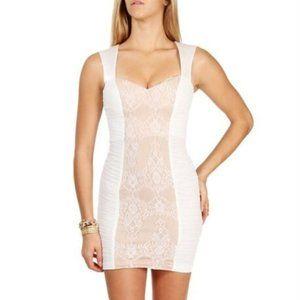NEW Hailey Logan $80 Ivory Evening Prom Mini Sz L